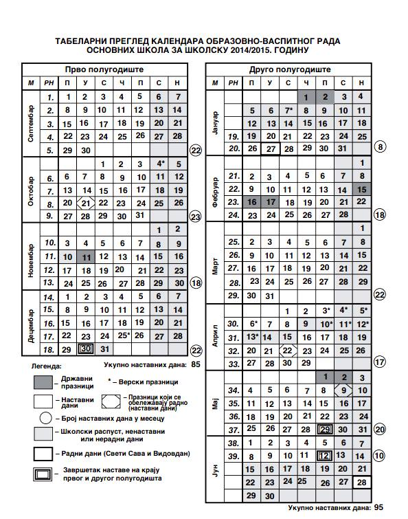 kalendar 15