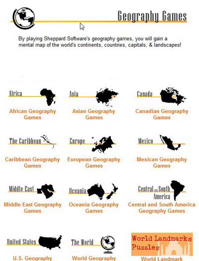 Geography-online-games