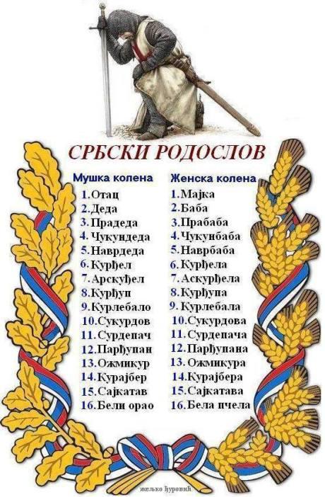 SRPSKI RODOSLOV